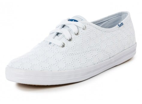 Chaussures Keds Champion Eyelet Blanche vue avant