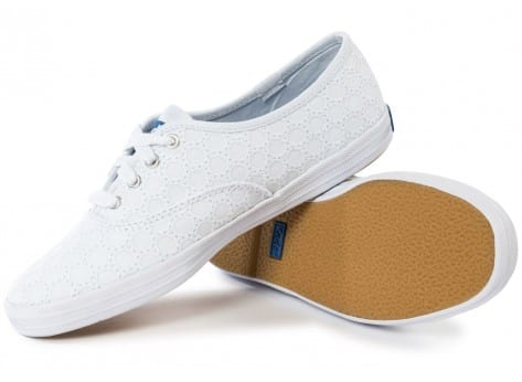 Chaussures Keds Champion Eyelet Blanche vue intérieure