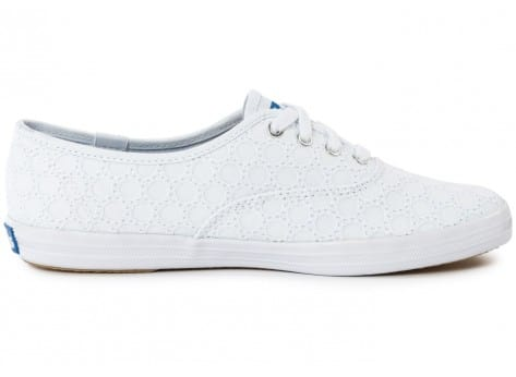 Chaussures Keds Champion Eyelet Blanche vue dessous