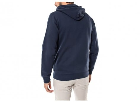 Sweat Helly Hansen Sweat Zippé à Capuche Alder bleu marine