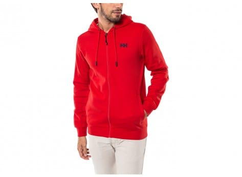 Sweat Helly Hansen Sweat Zippé à Capuche Alder rouge