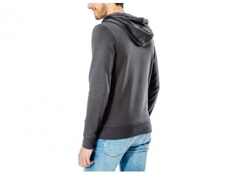 Sweat Jack & Jones Sweat à Capuche Clipped noir