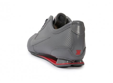 the best attitude e708e 2c9f8 ... chaussures nike shox rivalry grise vue arriere