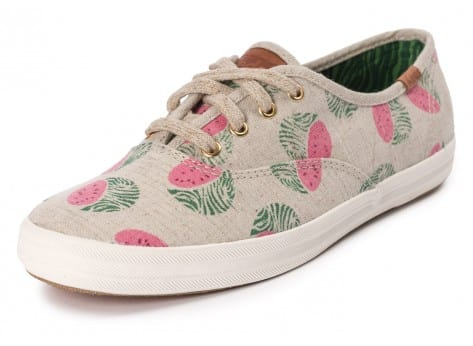 Chaussures Keds Champion Fruity Animals vue avant