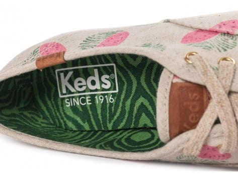 Chaussures Keds Champion Fruity Animals vue dessus