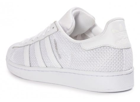 Chaussures adidas Superstar Nylon blanche vue arrière