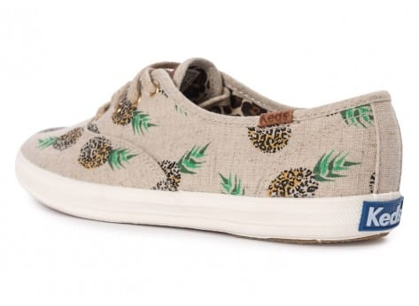 Chaussures Keds Champion Fruity Ananas Animals vue arrière