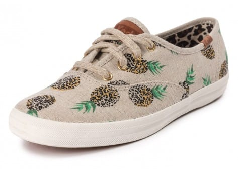 Chaussures Keds Champion Fruity Ananas Animals vue avant