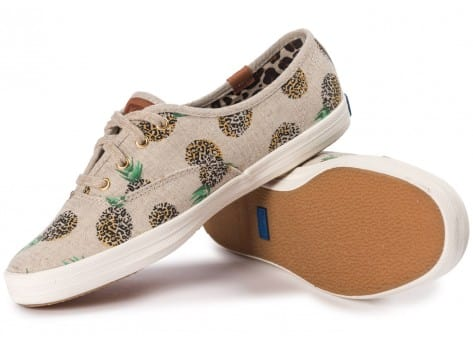 Chaussures Keds Champion Fruity Ananas Animals vue intérieure