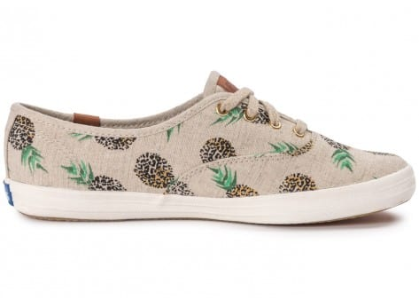 Chaussures Keds Champion Fruity Ananas Animals vue dessous