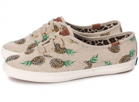 Chaussures Keds Champion Fruity Ananas Animals vue extérieure