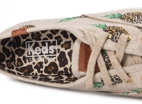 Chaussures Keds Champion Fruity Ananas Animals vue dessus