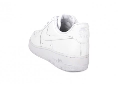 Chaussures Nike Air Force 1 Blanche vue arrière