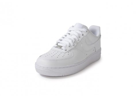Chaussures Nike Air Force 1 Blanche vue avant