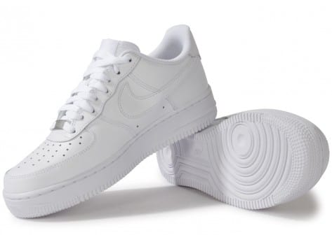 Chaussures Nike AIR FORCE 1 BLANCHE vue intérieure