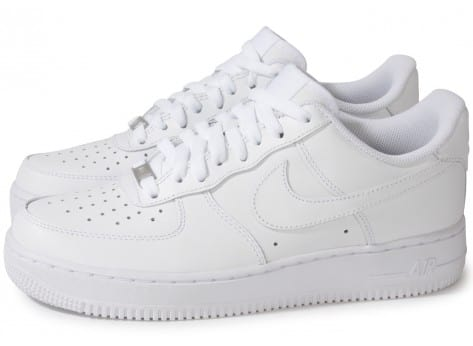 Chaussures Nike AIR FORCE 1 BLANCHE vue extérieure