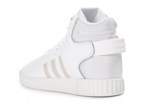 Chaussures adidas Tubular Invader blanche vue arrière