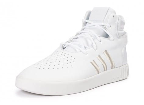Chaussures adidas Tubular Invader blanche vue avant