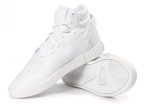 Chaussures adidas Tubular Invader blanche vue intérieure