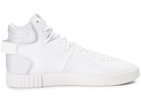 Chaussures adidas Tubular Invader blanche vue dessous