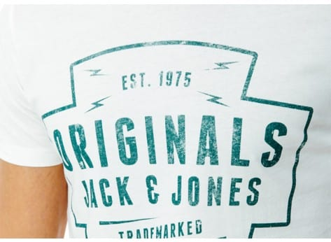 Tee-shirt Jack & Jones T-Shirt Heu blanc