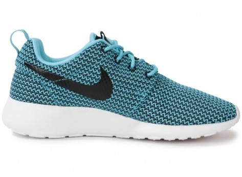 Chaussures Nike Roshe Run Clear Water vue dessous