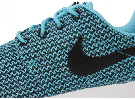 Chaussures Nike Roshe Run Clear Water vue dessus