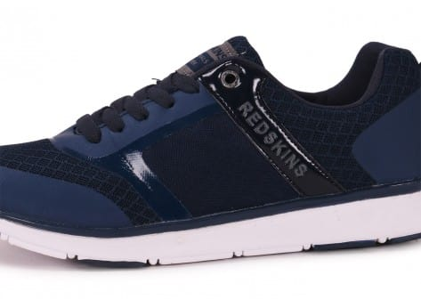 Chaussures Redskins Holly bleue vue dessus
