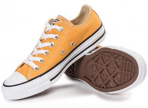 Chaussures Converse Chuck Taylor All-Star Canvas OX Solar orange vue intérieure
