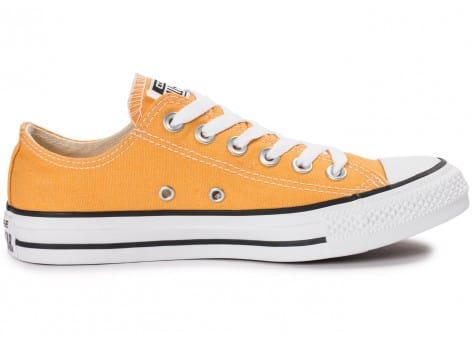 Chaussures Converse Chuck Taylor All-Star Canvas OX Solar orange vue dessous