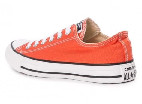 Chaussures Converse Chuck Taylor All-Star Canvas OX orange vue arrière