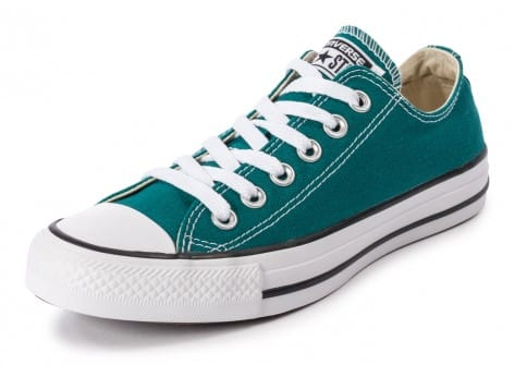 Chaussures Converse Chuck Taylor All-Star Seasonal OX Rebel Teal vue avant