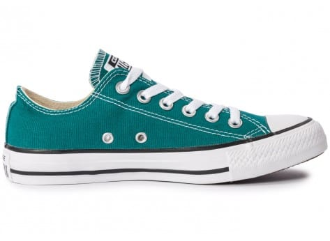 Chaussures Converse Chuck Taylor All-Star Seasonal OX Rebel Teal vue dessous