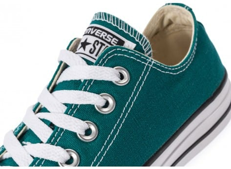 Chaussures Converse Chuck Taylor All-Star Seasonal OX Rebel Teal vue dessus