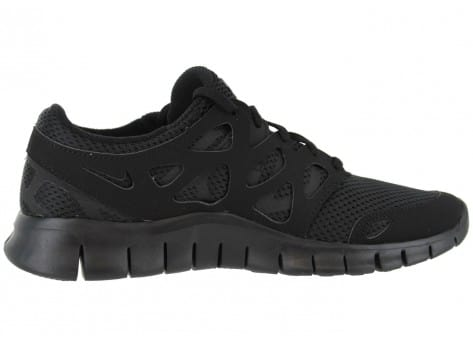 low priced cfe04 a3c48 ... chaussures nike free run 2 noir vue interieure
