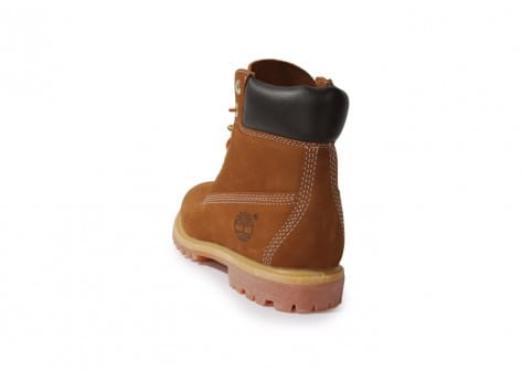 Chaussures Timberland Earthkeepers 6-inch Premium Boot Rouille vue arrière