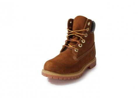 Chaussures Timberland Earthkeepers 6-inch Premium Boot Rouille vue avant