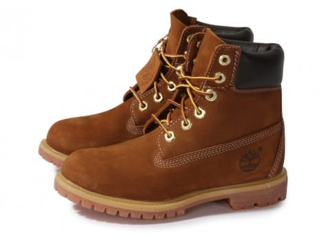 Chaussures Timberland Earthkeepers 6-inch Premium Boot Rouille vue extérieure