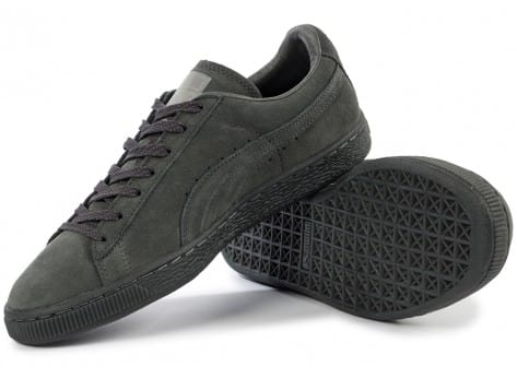 Chaussures Puma Suede Classic Ref Iced grise vue intérieure