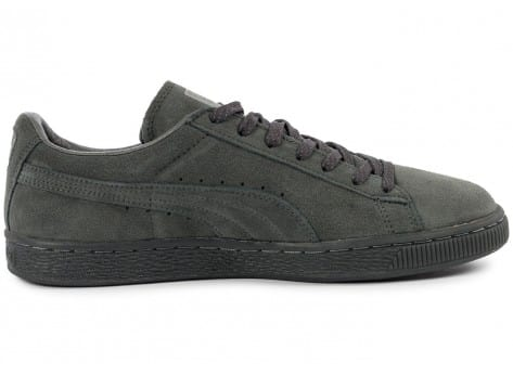 Chaussures Puma Suede Classic Ref Iced grise vue dessous