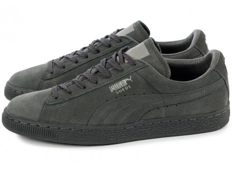 Chaussures Puma Suede Classic Ref Iced grise vue extérieure