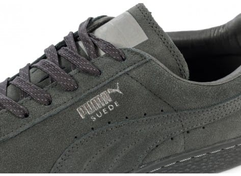 Chaussures Puma Suede Classic Ref Iced grise vue dessus