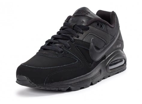 Chaussures Nike Air Max Command Leather noir vue avant
