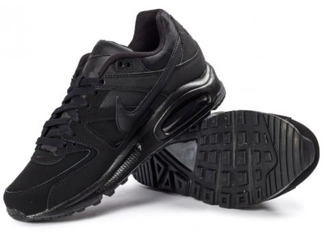 Chaussures Nike Air Max Command Leather noir vue intérieure