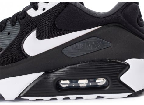 Chaussures Nike Air Max 90 Ultra Essential noire vue dessus