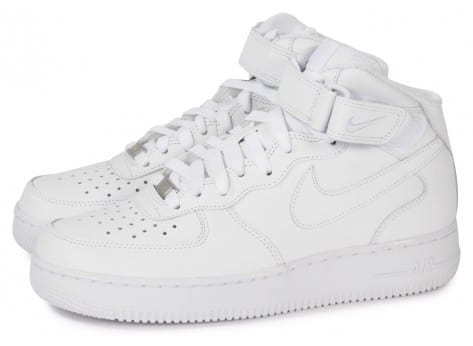 vans authentic femme - Nike AIR FORCE 1 MID 07 BLANCHE - Chaussures Homme - Chausport