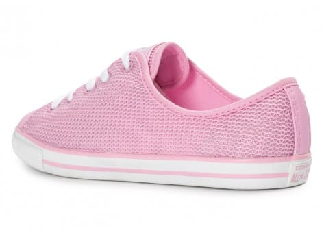 Chaussures Converse Chuck Taylor All-Star OX Dainty rose vue arrière