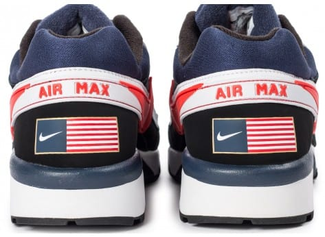 Chaussures Nike Air Max BW Olympic USA vue dessus