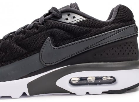 Chaussures Nike Air Max BW Ultra noir anthracite vue dessus