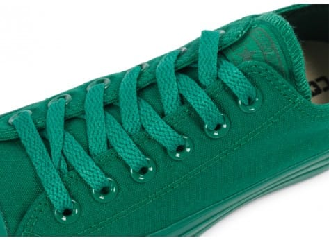 Chaussures Converse Chuck Taylor All Star Mono OX vert vue dessus